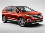 The 2015 Edge features three different engine options: a standard twin-scroll 2.0-liter EcoBoost four-cylinder, a 2.7-liter EcoBoost V6 and a 3.5-liter v6 engine.