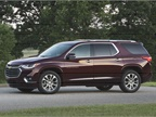Like its predecessor, the 2018 Traverse can carry eight passengers,