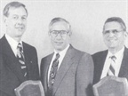 CHRYSLER-PLYMOUTH: (l to r) Third-place winner Ronald Pope of Russ