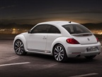 The 2012 New Beetle s trunk offers 10.9 cu. ft. of cargo space.