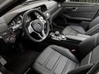 The 2012 Mercedes-Benz E63 AMG interior s steering wheel has a
