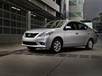 Nissan said it estimates fuel economy for the 2012 Versa Sedan at 30