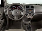 The new Versa Sedan  offers aninterior volume of 90.0 cubic feet and