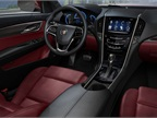The new ATS offers Cadillac s new CUE system, which GM said is an