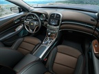 The 2013 Malibu offers drivers a new dual cockpit design with nearly 4