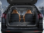 The cargo area provides 24.4 cu. ft. of space.