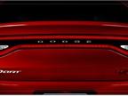 The Dodge Dart s spoiler is designed to reduce drag.