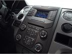 The F-150 offers a 4.2-inch display in the console or, with MyFord