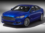 The 2013 Ford Fusion Hybrid.