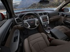 The 2013-MY Acadia also comes with redesigned infotainment functions