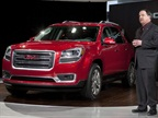 GMC U.S. Marketing Vice President Tony DiSalle unveils the 2013 GMC