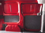 The cargo area is designed to allow upfitting. Users can add