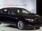 Ford s 2013 Taurus has a few exterior design changes but has the same