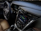 The Cadillac CUE infotainment system comes standard in the ELR.