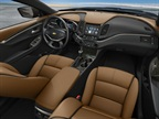 Chevrolet designed the cabin to be quiet, using sound damping and (on