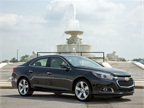 GM has unveiled its updated 2014 Chevrolet Malibu. Photo courtesy GM.