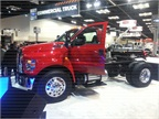 This F-650 and the F-750 will be available with three engine choices