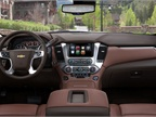 The 2015 Chevrolet Suburban will offer an eight-inch touchscreen and