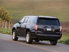 The three-row Yukon Denali XL seats seven.