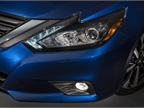 The Altima gets LED signature daytime running lights.