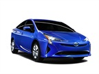 The front headlights of the 2016 Prius suggest a design influence from
