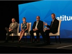 Jay Jaffin (far right), Verizon Telematics CMO, moderated a panel