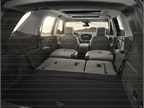 With the second and third row folded down, the Traverse offers 98.2