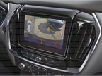 A 7-inch touchscreen display offers clear images around the vehicle,