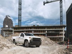 The Silverado Work Truck features a Chevrolet graphic across the