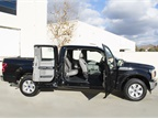 The SuperCab configuration includes a full front door and rear door on