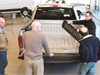 Commercial customers saw first-hand the ruggedness of the
