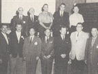 [1963] Newly elected officers and directors are installed at the 1963