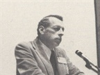 [1974] John Bennett addresses the membership after his election as