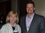 GE Capital Fleet Services' Kristi Webb and DISH's Abe