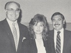 (left to right) Gordon Whitby, Nissan-Datsun; Donna Janazzo, Stephen