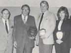 (left to right) Walt Latta, Pontiac Motor Division; Stan Penn, Penn