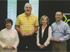 (L-R) Recipients of Element's Business Impact Award include