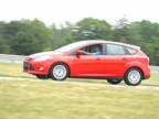 Attendees had the opportunity to drive the Focus in an event called
