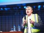 Andrzej Sacha of Nestle donned a yellow safety vest to make a point