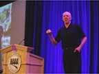Basketball Hall of Famer and Broadcaster Bill Walton gave an inspiring