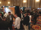 Attendees socialize at the CAR 2017 exhibit hall, which featured