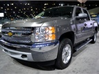 GM had its Chevrolet Silverado at the event.