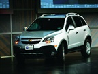 The 2012 Chevrolet Captiva will arrive in 4th quarter 2011as a