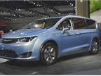 Chrysler Pacifica hybrid minivan