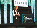Kristi Webb, president and CEO at Element Fleet Management, presented