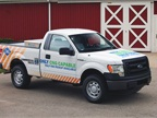When the 3.7L V-6 F-150 is equipped with a CNG/LPG engine package, it