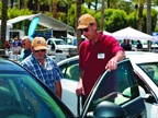Attendees had the opportunity to check out a range of GM vehicles.