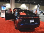 Toyota Mirai hydrogen fuel-cell sedan.