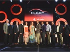 Flexy awards winners and sponsors at the NAFA I&E awards ceremony.