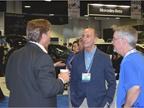John Norris (middle), president, AmeriFleet, engages with NAFA